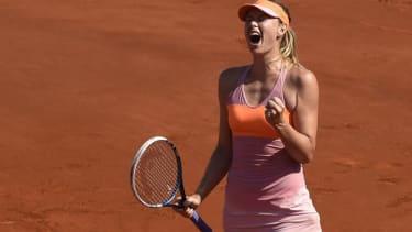 Maria Sharapova wins second French Open title
