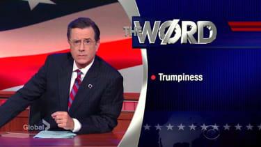 "Stephen Colbert resurrects ""The Word"""
