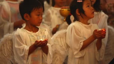 China will create its own version of Christianity