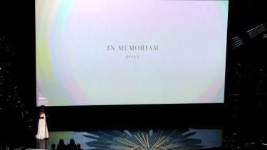 A 2012 In Memoriam segment at the Oscars.