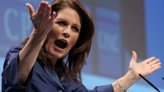 Sure, Michele Bachmann had her fair share of public blunders in 2011, but so did President Obama, Newt Gingrich, and just about every other presidential candidate.