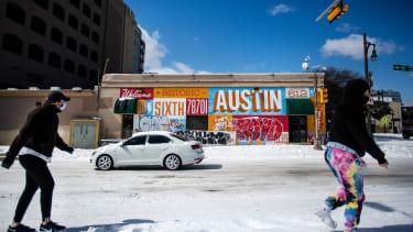 Pedestrians in Austin, Texas