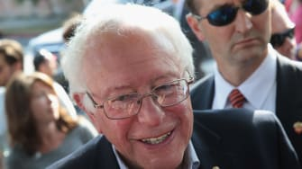 Bernie takes the lead.
