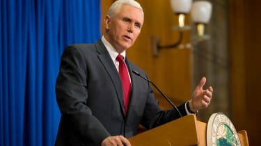 Vice presidential nominee Mike Pence.