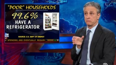 Watch The Daily Show skewer Fox News over its food stamp obsession