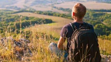 Quiet hiker