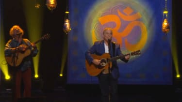 To celebrate autumn, here's Paul Simon singing 'Here Comes the Sun'