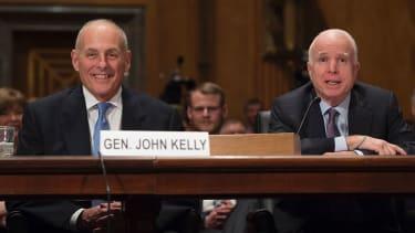 John F. Kelly was confirmed as homeland security secretary
