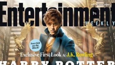 Eddie Redmayne on the cover of Entertainment Weekly