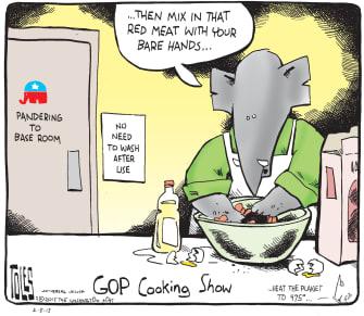 Political cartoon U.S. GOP Health