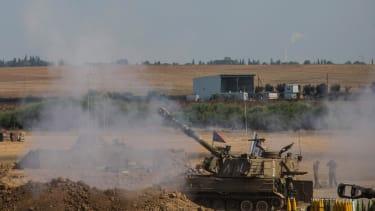 Hamas asks for 24-hour truce following Israeli bombardment