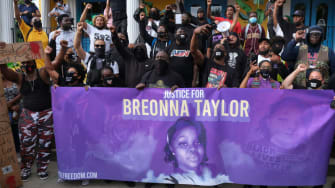 A protest for Breonna Taylor.