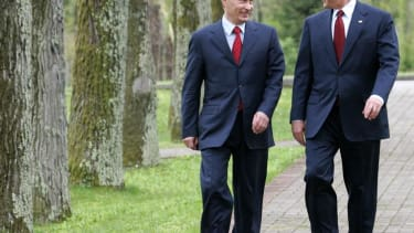 Bummed George Bush laments how Putin 'changed'