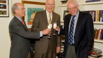 Congressman Welch, Sen. Patrick Leahy and Bernie Sanders.
