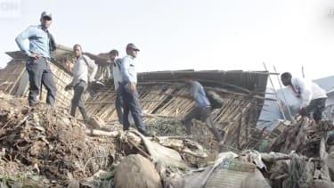 Ethiopia landslide.
