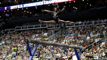 Simone Biles wins her sixth U.S. title