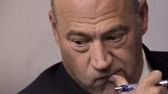 Gary Cohn during a news briefing at the White House