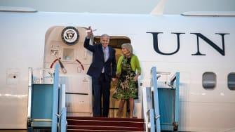Vice President Biden travels to Israel despite attacks.