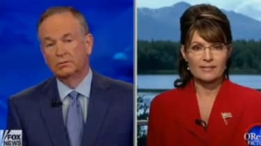O'Reilly and Palin have another tense exchange.