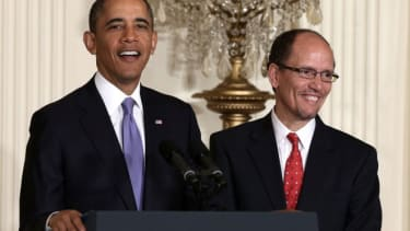 President Obama's nomination of Thomas Perez to Labor Secretary was approved on May 16.