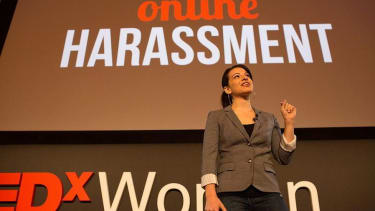 Speech by feminist blogger canceled after anonymous threat