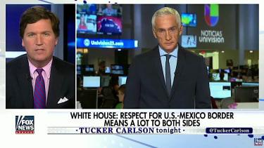 Tucker Carlson, Jorge Ramos face off on immigration