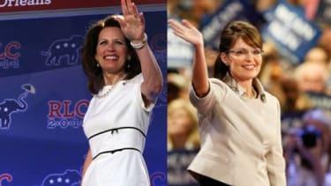 Rep. Michele Bachmann (R-Minn.) and Sarah Palin