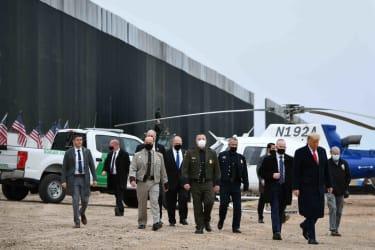 Trump at the border