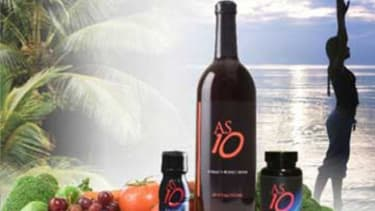 AS10, a drink supplement originally designed for astronauts, can now be purchased on health and vitamin websites for $50 for a 25-ounce bottle.