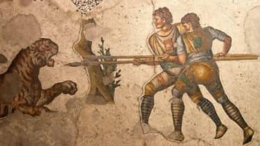 A Byzantium mosaic