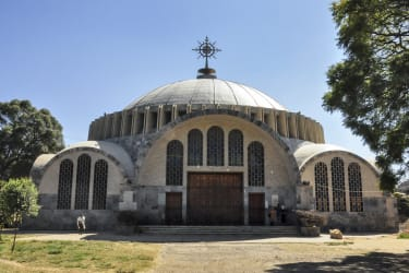 The Church of St. Mary of Zion in Axum.