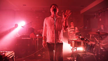 LCD Soundsystem performs in New York in 2016.