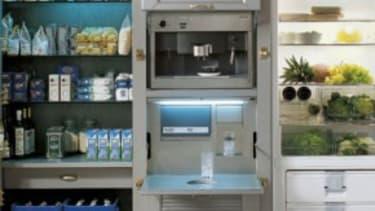 The not-so-mini fridge