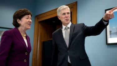 Neil Gorsuch meets with Sen. Susan Collins