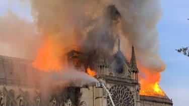 Notre Dame fire.