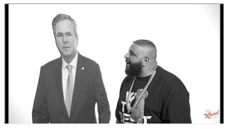 DJ Khaled gives Jeb Bush advice on Jimmy Kimmel.