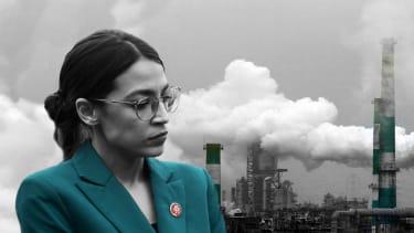 Rep. Alexandria Ocasio-Cortez and carbon emissions.