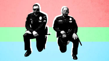 Police officers.