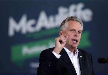Virginia Democratic Gov. Terry McAuliffe is under investigation.