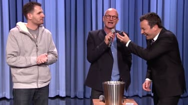 Sting scats ringtones, sings someone's voicemail message for Fallon's Tonight Show