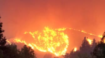 The Woolsey Fire in Southern California