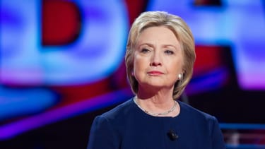 Hillary leads Bernie by 7 points in latest poll.