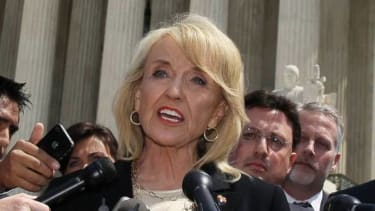 Watch Arizona Gov. Jan Brewer explain her 'religious freedom' bill veto