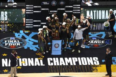 Baylor wins 1st ever men's basketball title