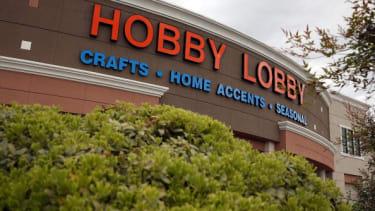 A Hobby Lobby store.