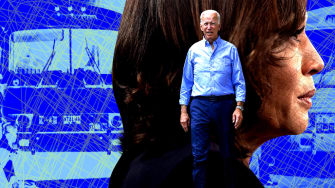 Kamala Harris and Joe Biden.