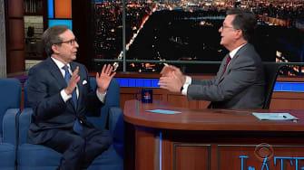 Stephen Colbert and Chris Wallace debate Mueller's testimony