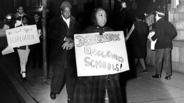 An antisegregation demonstrator.