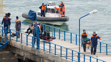 Rescuers recover body from the Black Sea after plane crash