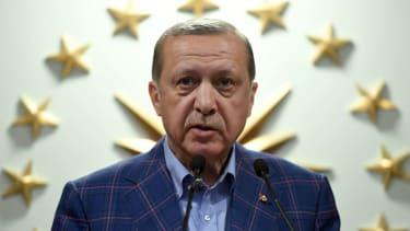 Turkish President Erdogan is heading to the White House